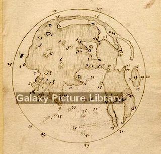 Harriot's map of the Moon