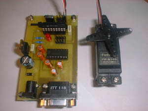PIC Serial Port Servo Controller
