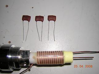 Homebrew hf Screwdriver antenna