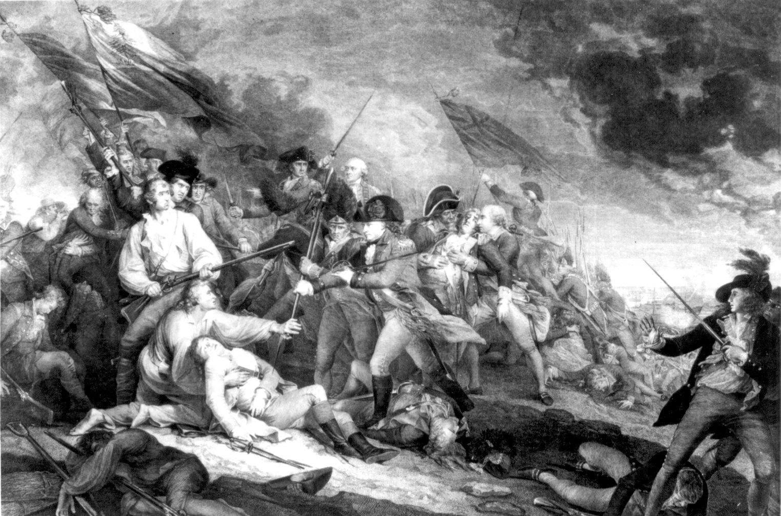 John Trumbull S Prints Of The American Revolution
