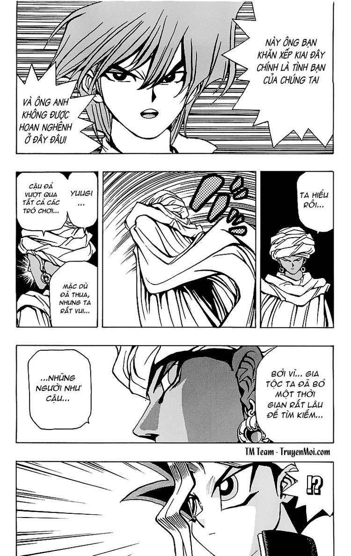 YUGI-OH! chap 20 - trò chơi kết thúc trang 17