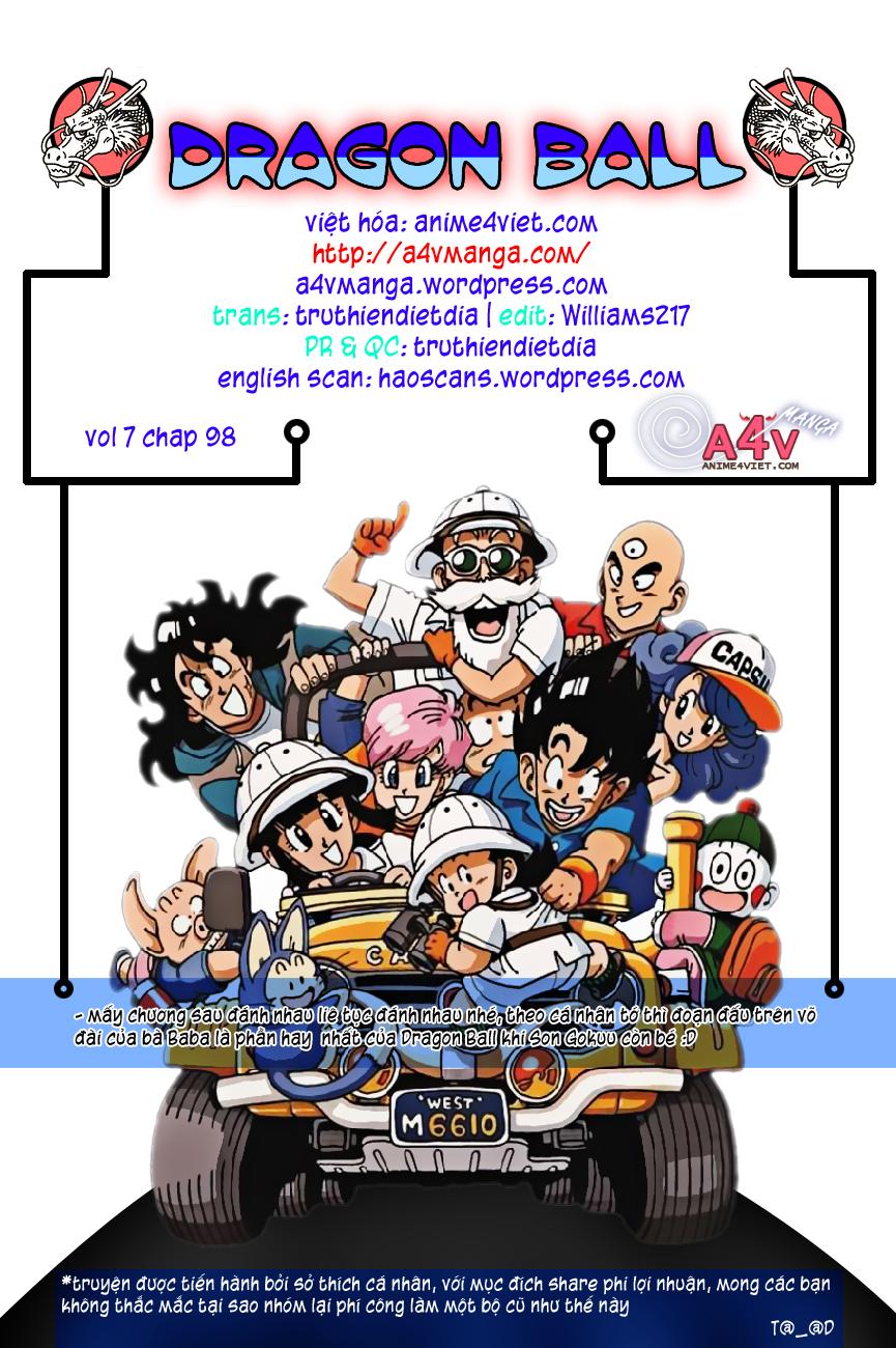 Dragon Ball chap 98 trang 15