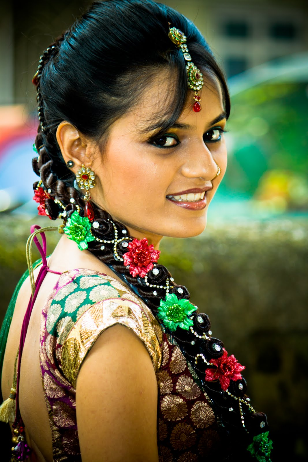 Hyderabad Wedding Photographer: Colorful Gujarati Wedding