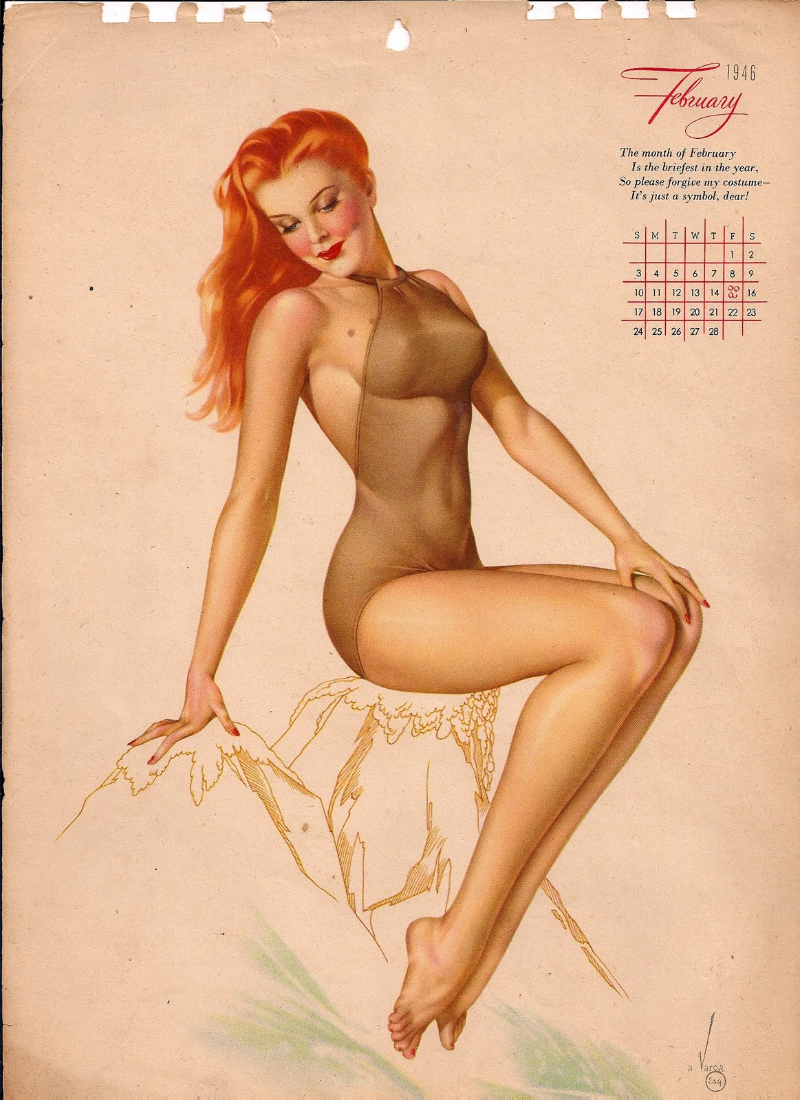 adventskalender pin up