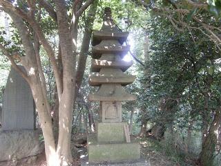 天柱峰供養塔