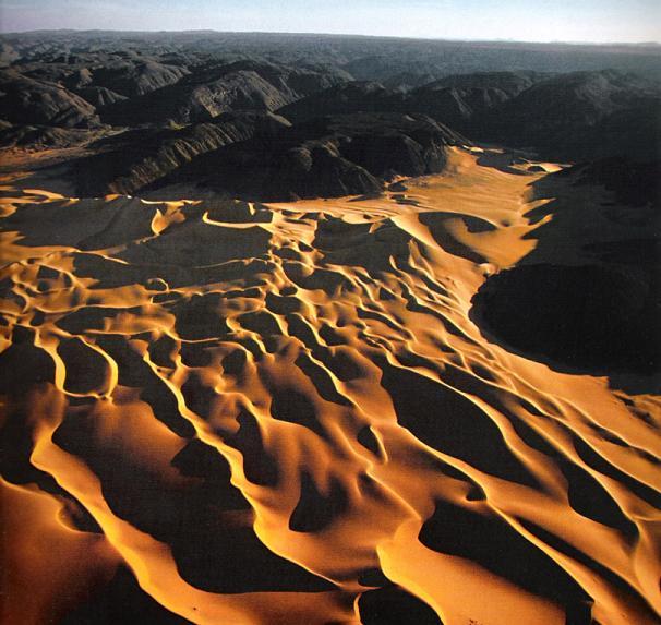 Sand Dunes Of The Sahara