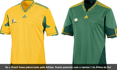0edd853f85 Blog da Chuleta  As camisas das Seleções da Copa do Mundo 2010!