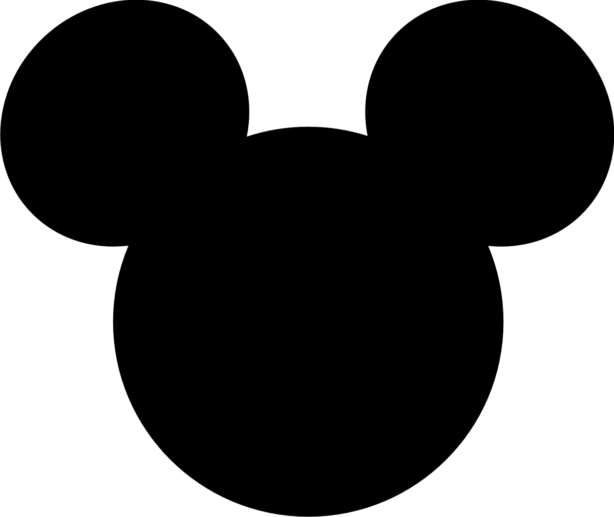 mickey mouse head shape template - winks daisies november 2010