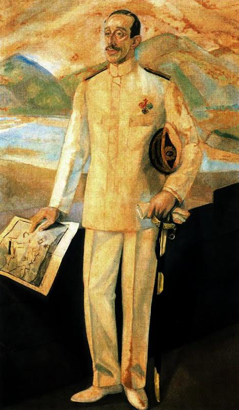 Daniel Vázquez Díaz, Retrato de Alfonso XIII, Alfonso XIII, Retrato de Felipe VI, Retratos de Felipe VI, Felipe VI, Cuadro de Felipe VI, Nuevo retrato de Felipe VI, Familia Real Española, Leonor de Borbón, Sofía de Borbón
