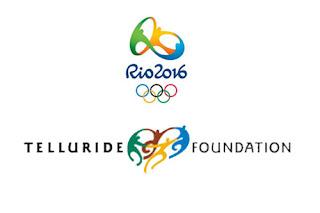 logos rio 2016 et telluride foundation