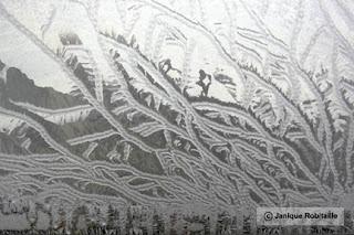 art abstrait hiver
