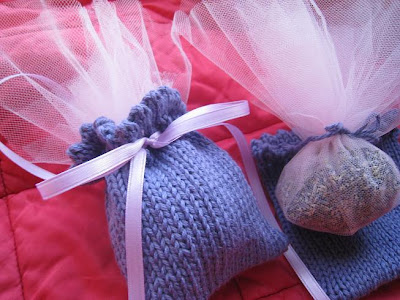 Knit For Your Life Lavender Sachet Free Pattern
