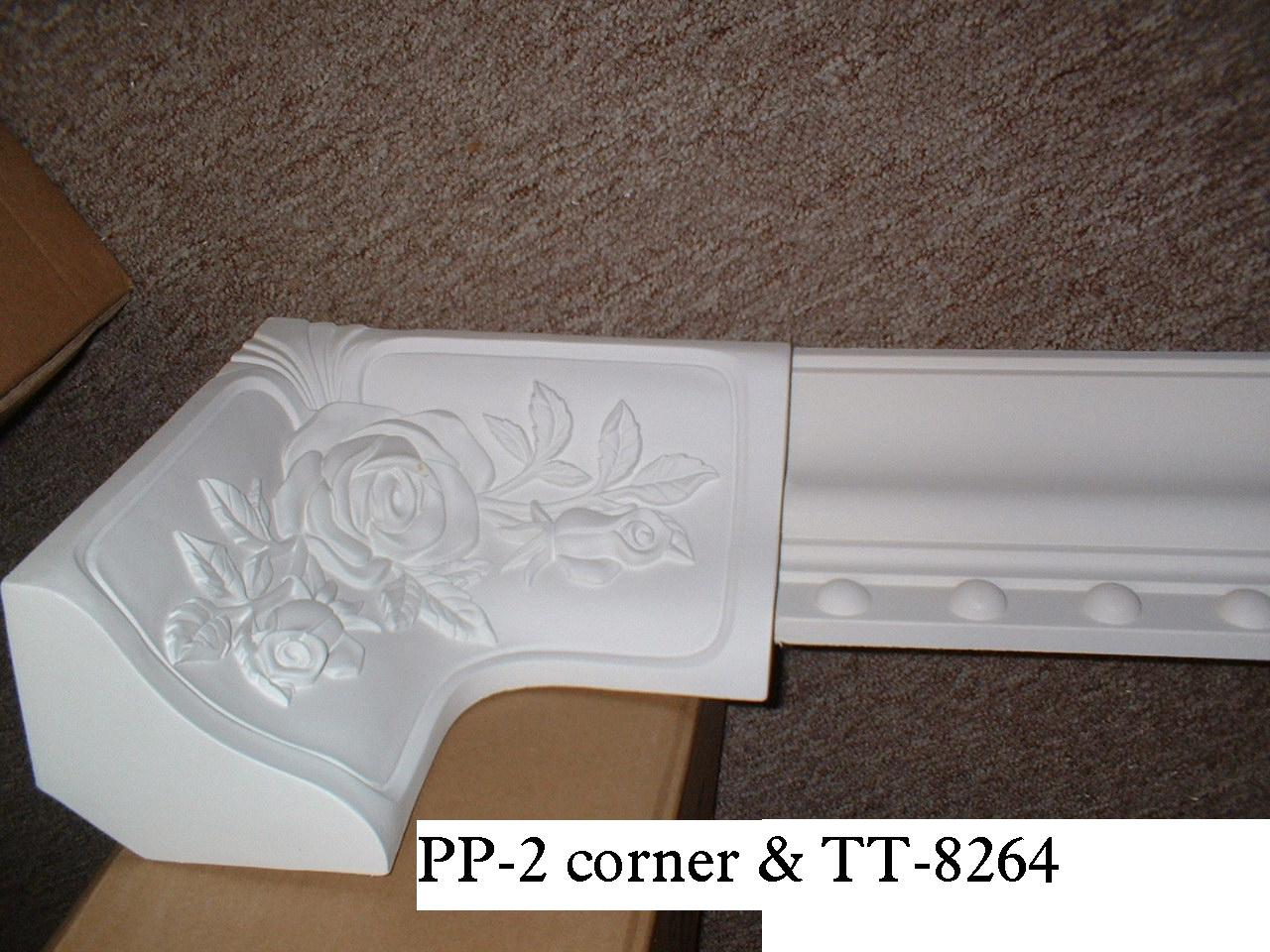 Gypsum Plaster Cornices Mouldings Artistic Ceiling Pu