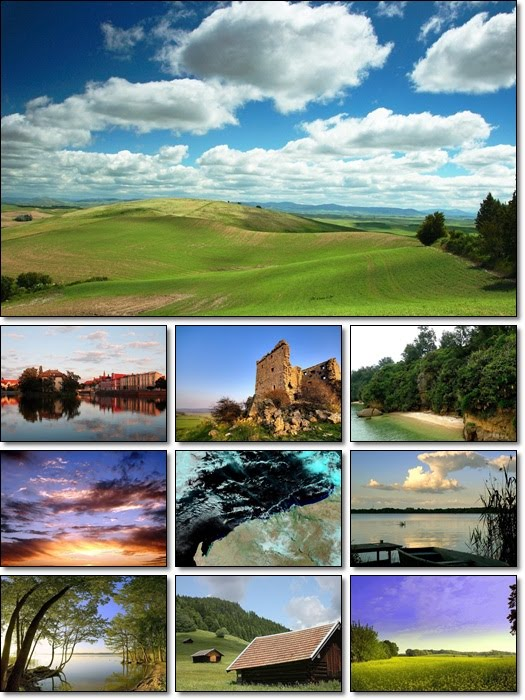 Nature and Landscape Wallpapers Pack 3 | All Wallpaperz Free