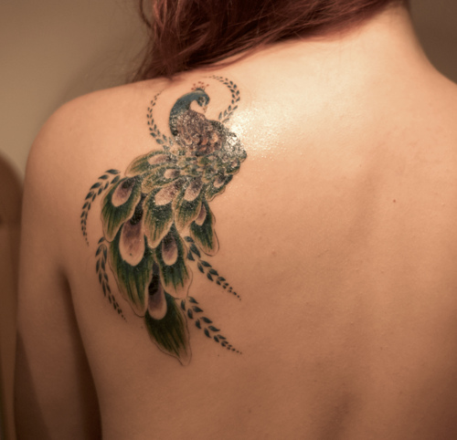 Bird Tattoo Ideas On Shoulder For Girls Full Body Tattoos