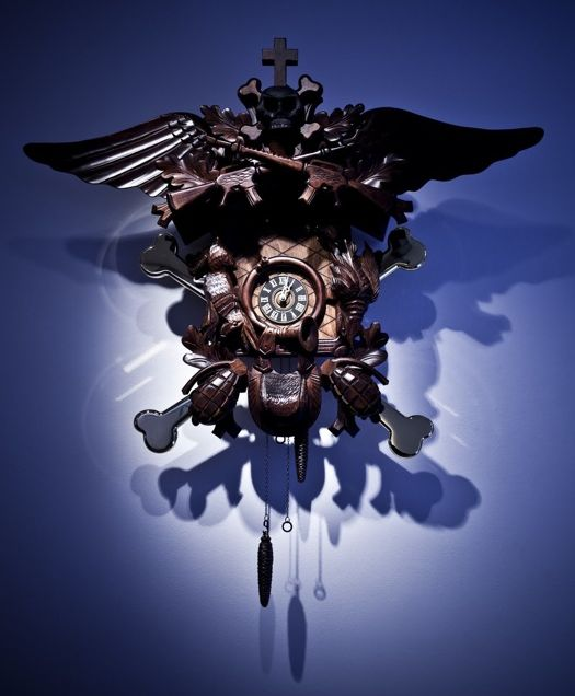 Street Art Cuckoo Clocks Are Amazing