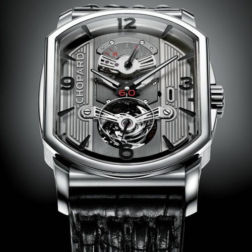Automobile engine inspired L.U.C. Engine One Tourbillon