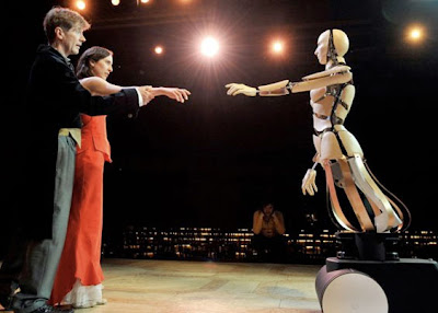 Robots Take Over Swiss Theater