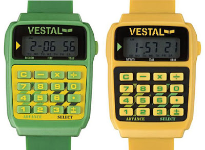 Retro Themed Calculator Watch Makes Me Nostalgic