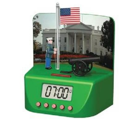 American Flags Alarm Clock Will Fill Your Mornings With Patriotism