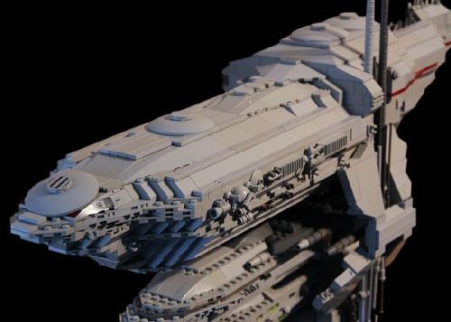 Lego Star Wars Rebel Frigate Is A Giant Randommization