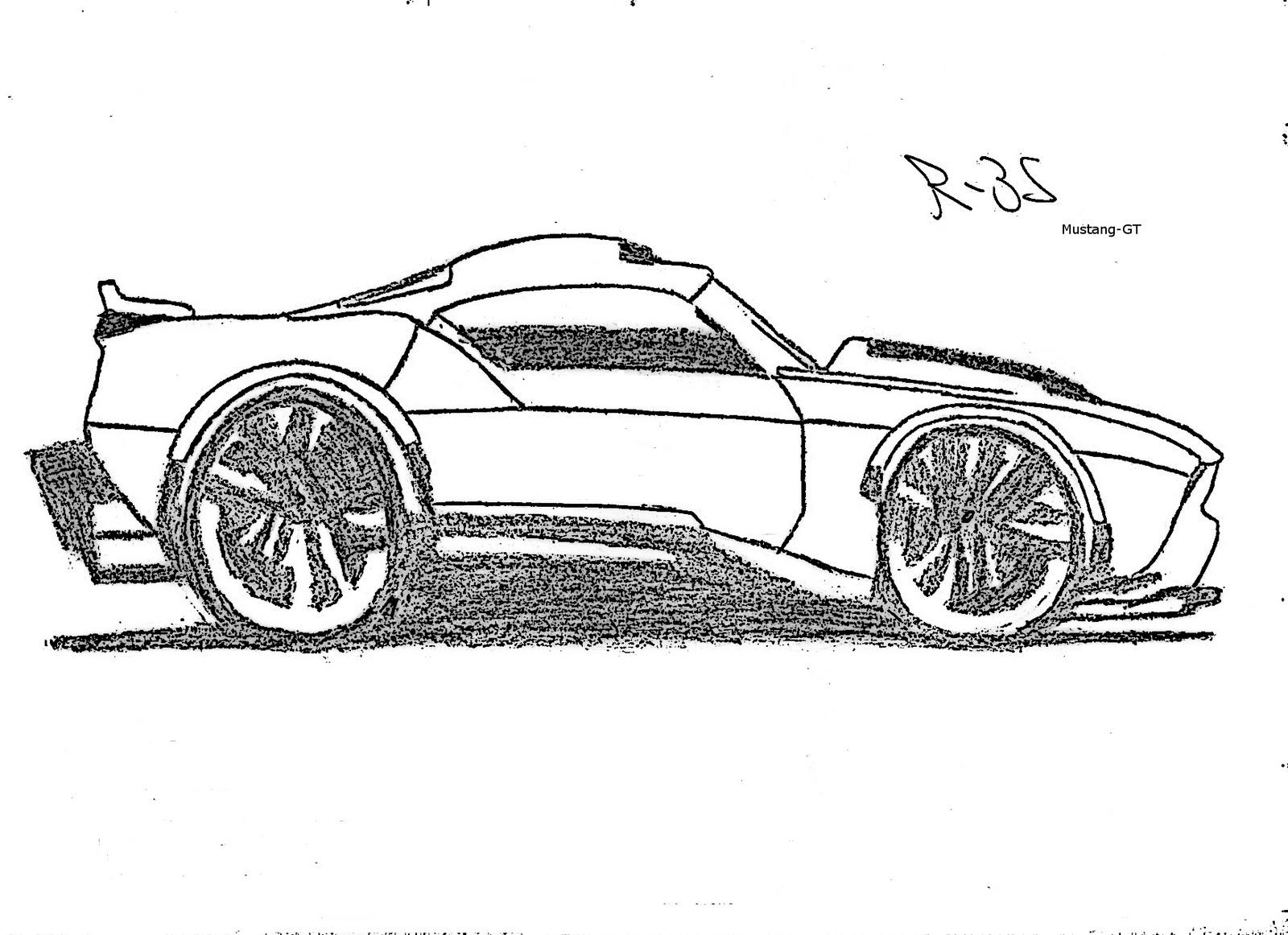 Rene Bkt Montagens E Desenhos Mustang Gt