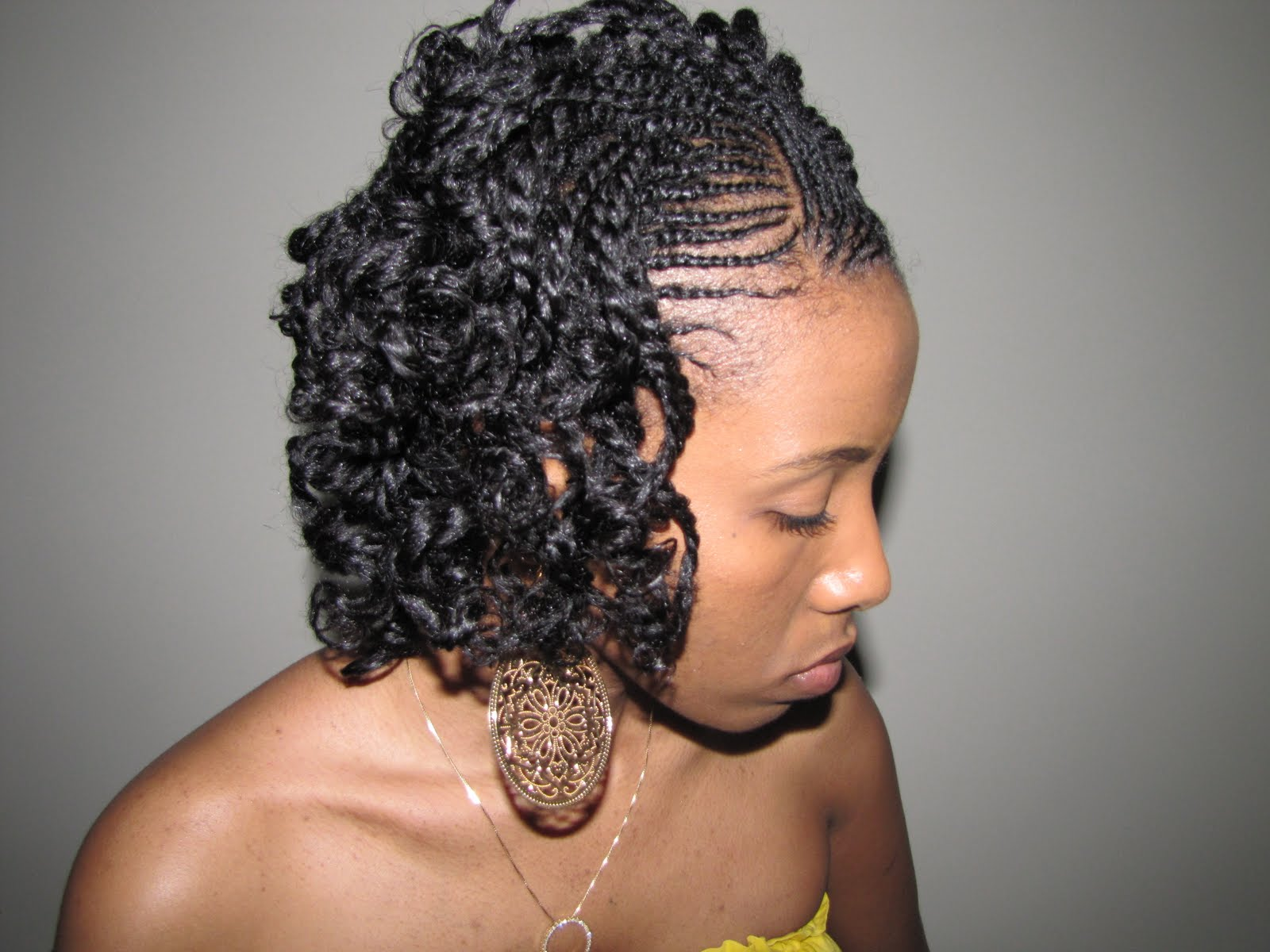 A Twist On The Twist-n-Curl- Natural Hair Style