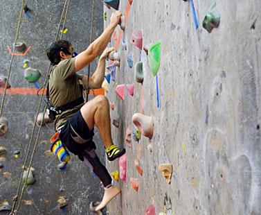 indoor rock-climber