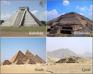 Similitudes pirámides egipcias y mayas