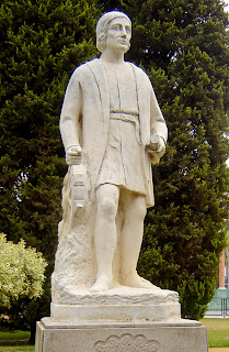 Estatua Alonso Sánchez de Huelva el prenauta
