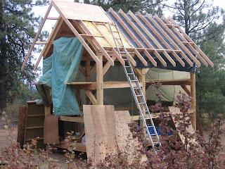 Timber Framing A North Idaho Cabin September 2007