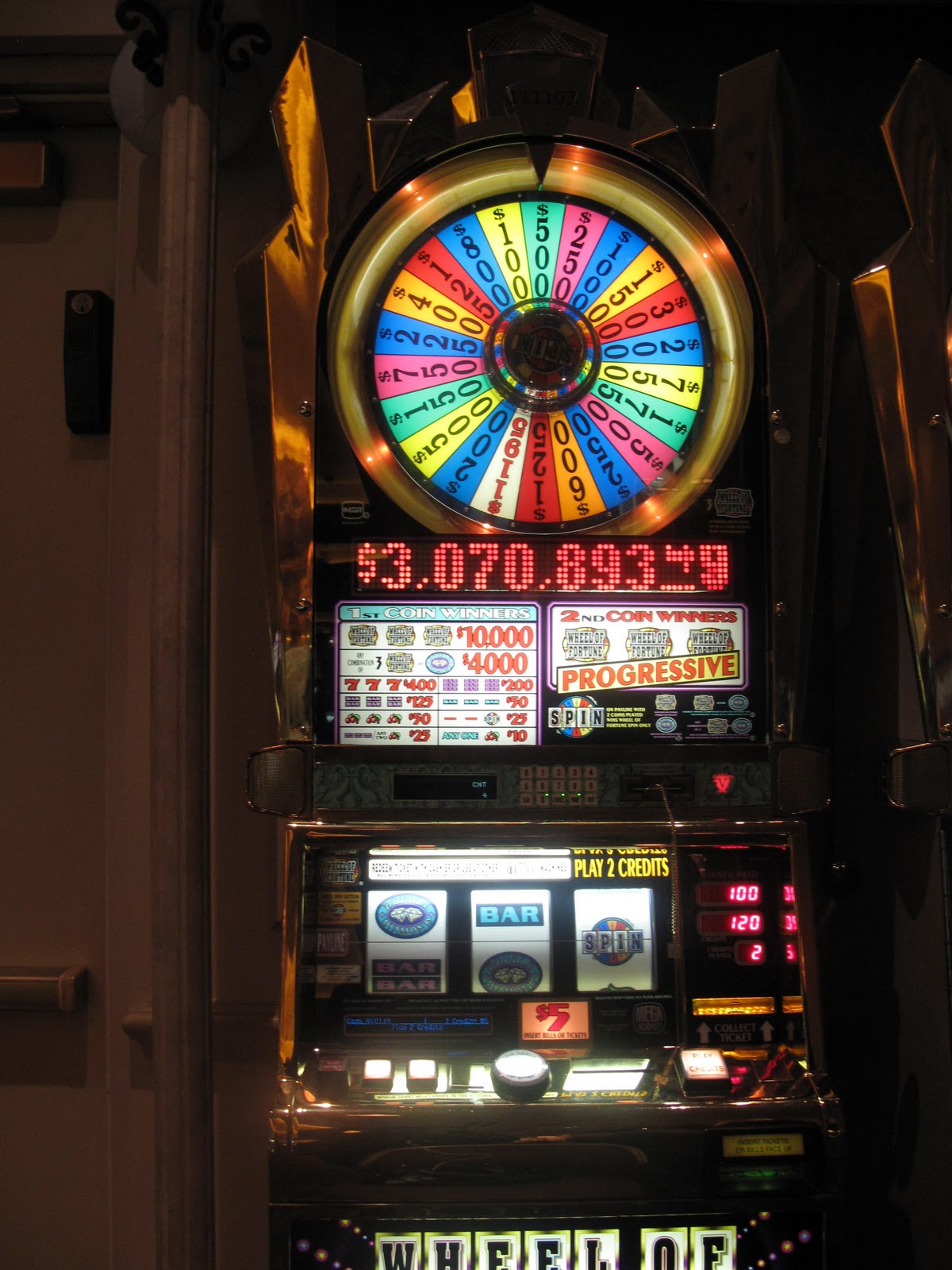 Wheel Of Fortune Slot Machine Las Vegas