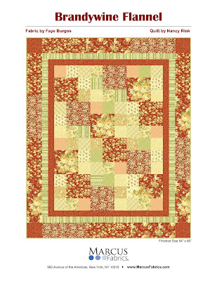 Nancy Rink Designs Free Pattern For Marcus Brothers Fabrics