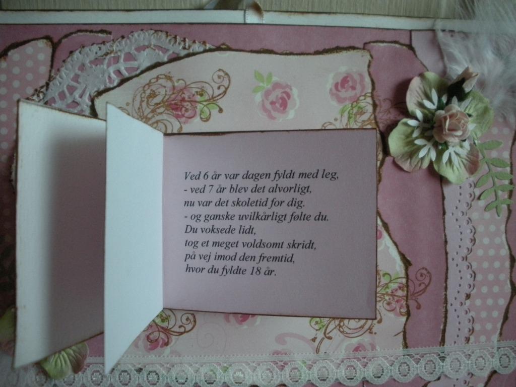 text till 30 års kort Helles Card: June 2010 text till 30 års kort