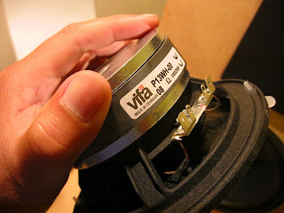 Gainphile: Vifa P13WH upgrade (P13WH-00-08) midbass woofer