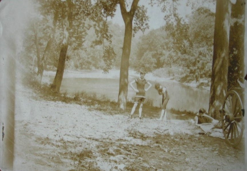 HOUSE OF MIRTH PHOTOS  EPHEMERA THE OLD SWIMMING HOLE by