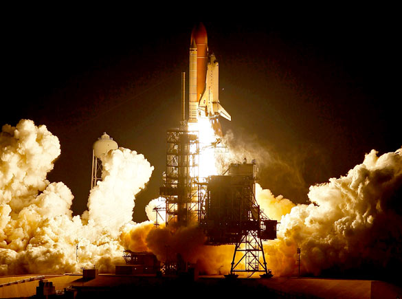 space shuttle main engine start - photo #8