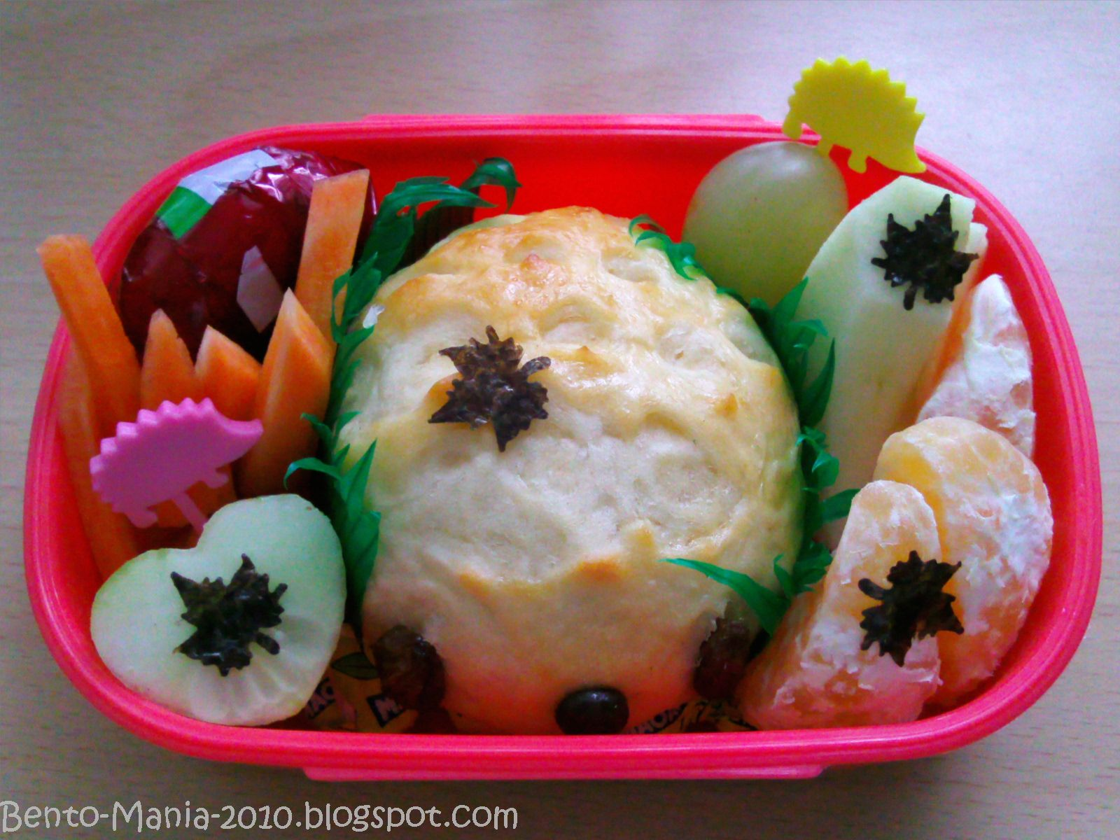 bento mania verr ckt nach der japanischen lunch box bento herbstliches snack bento mit. Black Bedroom Furniture Sets. Home Design Ideas