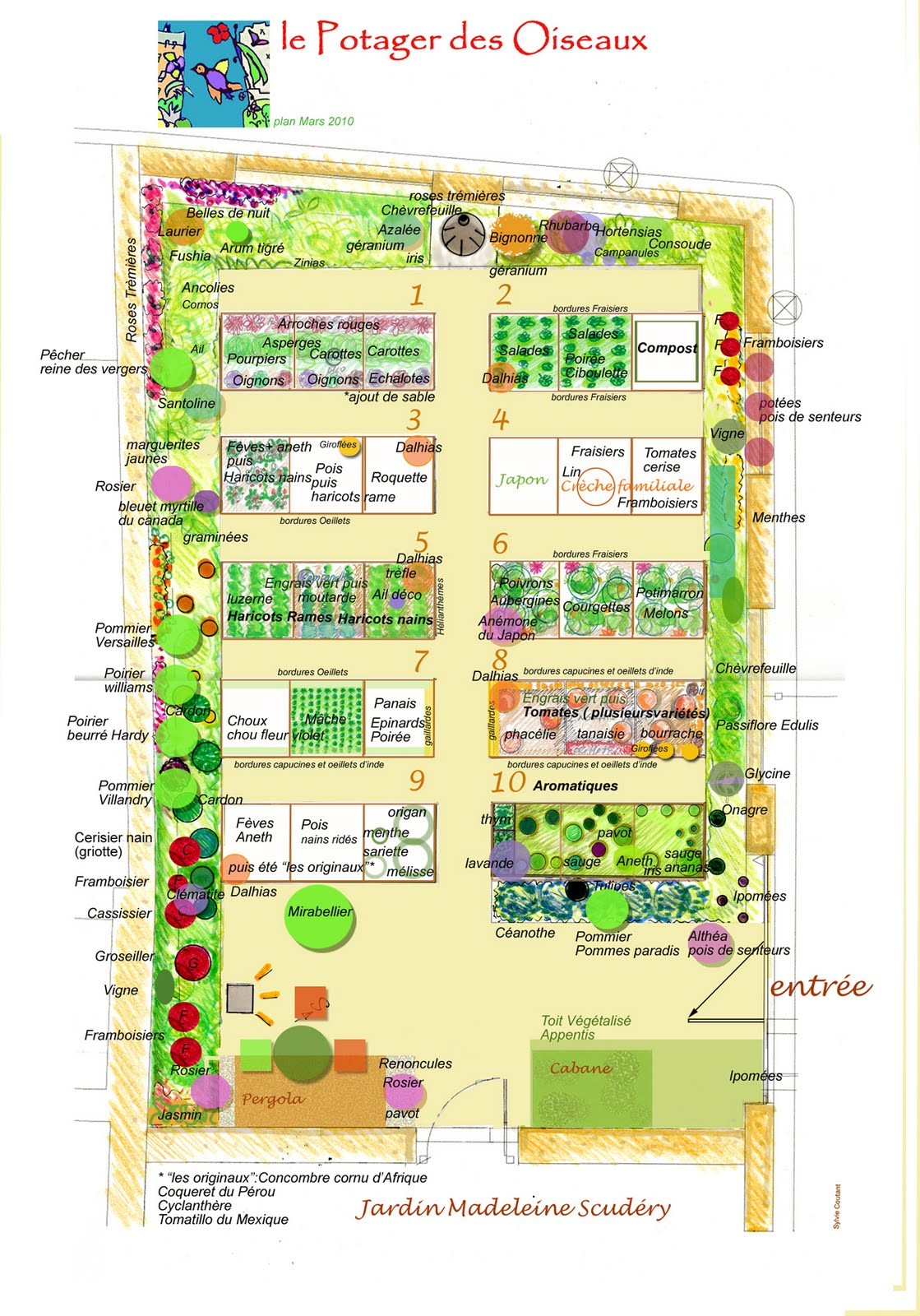 le jardin potager c 39 est comme a en 2010. Black Bedroom Furniture Sets. Home Design Ideas