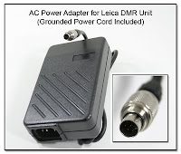 SC1017: AC Power Adapter for Leica DMR Unit - Power Cord Included