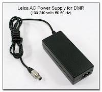SC1017b: Leica AC Power Supply for DMR Unit (100-240 volts 50-60 Hz Input)