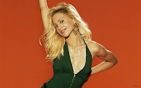 Brittany Murphy Green Dress