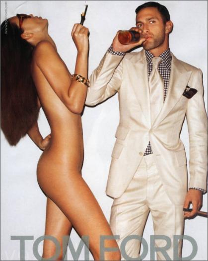 clothed women naked men