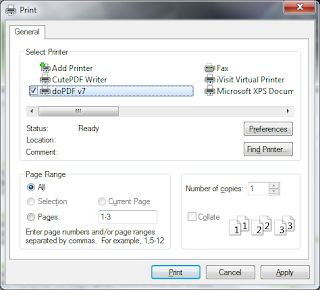 Print Documents to PDF for Free