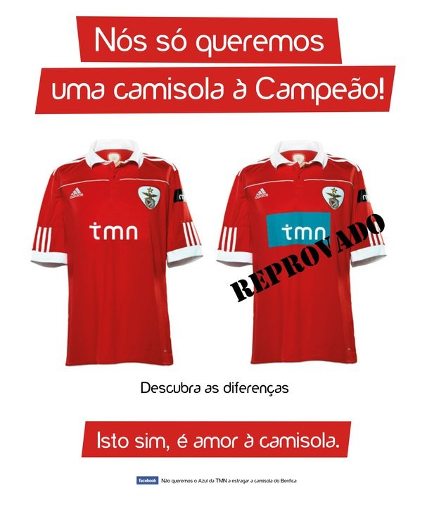 Camisolas 2010/2011