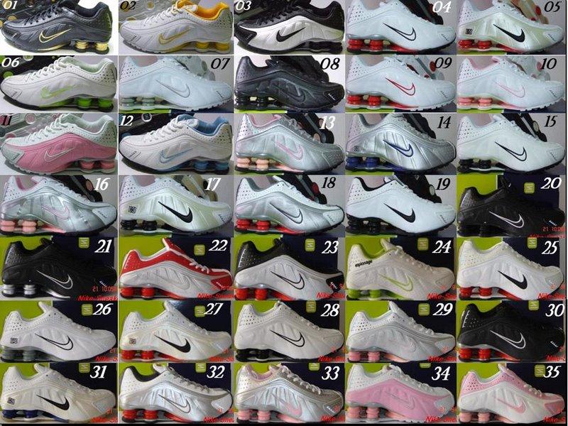 Tênis Nike Shox Classic E Nike Shox R4 Originais Importados R  299.9 ... 9b58dd862e3