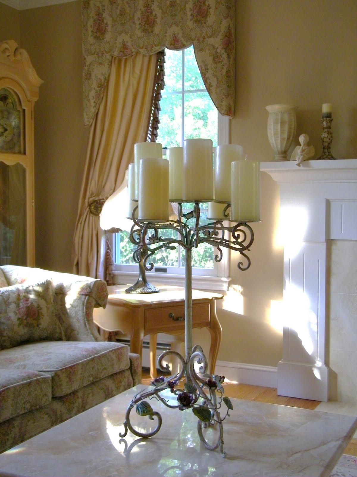 Romantic Living Room Decorating Ideas: Maison Decor: Romantic Living Room Update