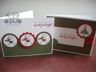 Stampin' Up! Sparkly & Bright card kit