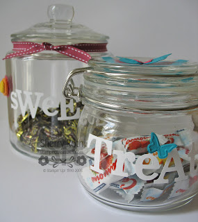 Decor Elements Vinyl Candy Jars
