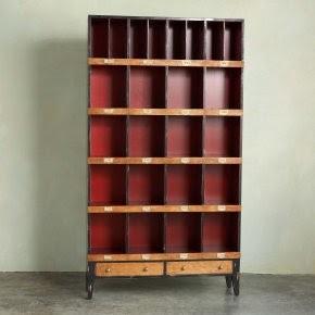 The Steampunk Home Bookshelves